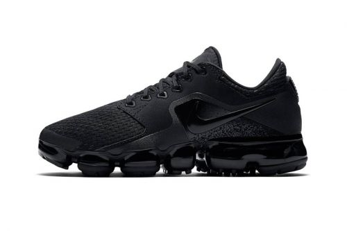"""An Official Look at the Upcoming Nike VaporMax CS """"Triple Black"""" Model"""