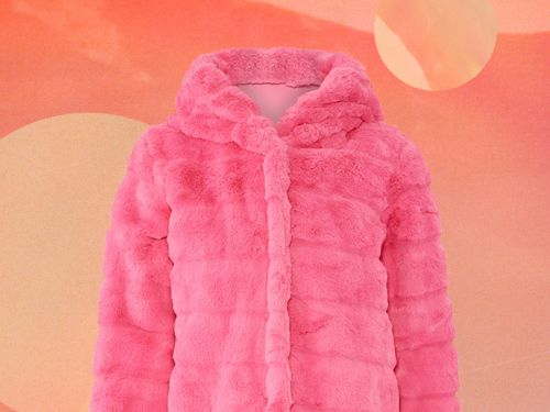 Men Really Seem To Hate This Rent The Runway Hot Pink Faux Fur Coat