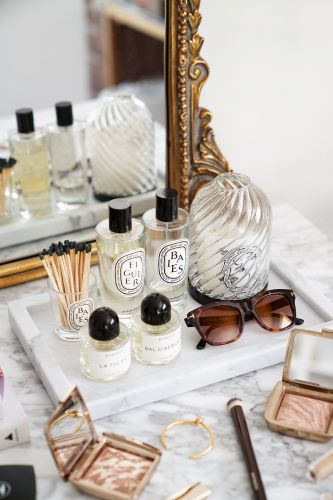 Best Decorative Trays for Your Vanity + Beauty Products