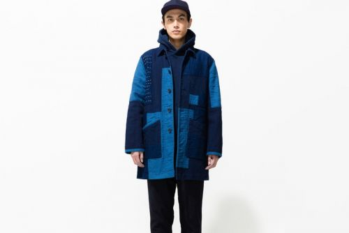 Blue Blue Japan Masters Indigo Dye and Patchwork for Fall/Winter 2018