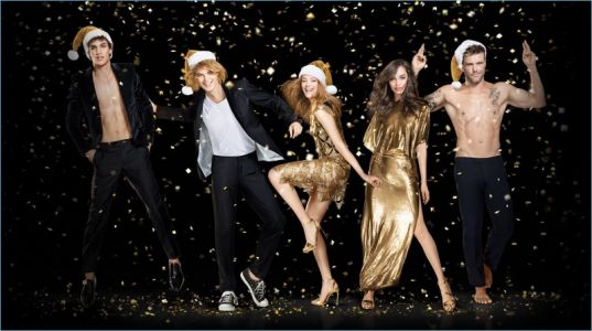 Paco Rabanne Brings Together Campaign Stars for the Holidays