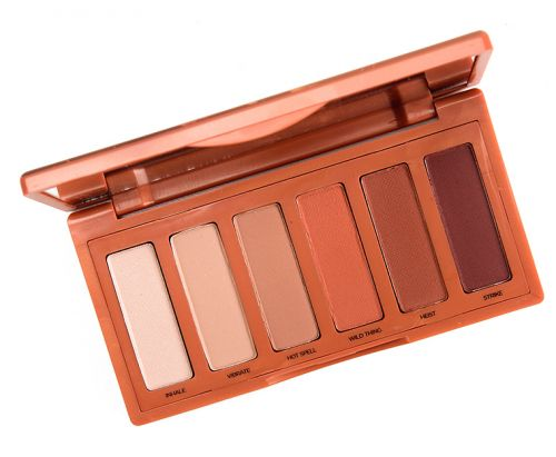 Urban Decay Naked Petite Heat Eyeshadow Palette Review, Photos, Swatches