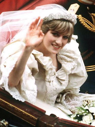 Prince Harry's Cousin Just Got Married in Princess Diana's Wedding Day Tiara