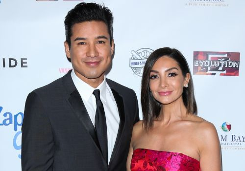 "Mario and Courtney Lopez Are Ready for Baby No. 3: ""That Would Be a Nice Holiday Gift!"""