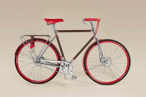 Ride Around in Style With Louis Vuitton and Maison TAMBOITE's LV Bike