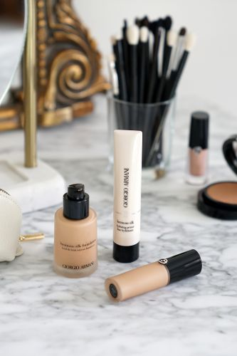Armani Luminous Silk Foundation, Hydrating Primer + Concealer Review