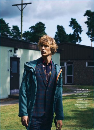 Last Man Standing: Sven de Vries for The Sunday Times Style