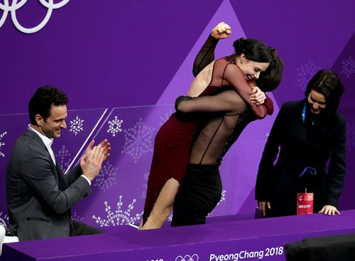 """We Are All Pregnant"": The Best Reactions to Tessa & Scott's Gold Medal Performance"
