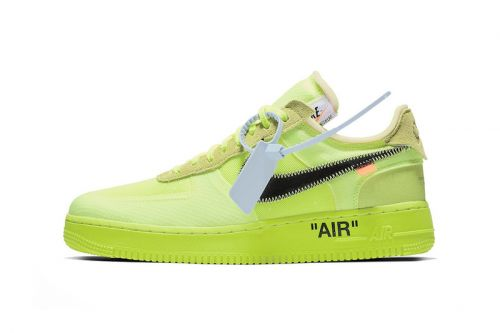 "A Clean Look at the Off-White™ x Nike Air Force 1 ""Volt"""