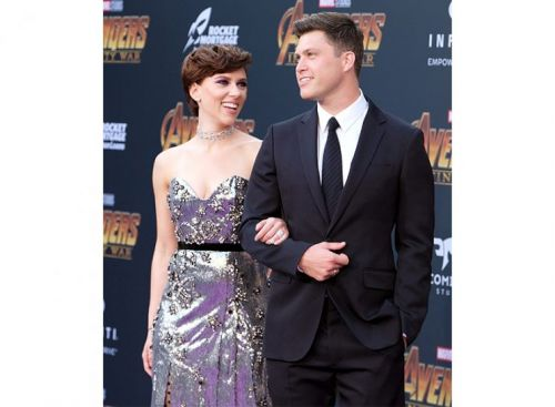 ScarJo and Colin Jost Just Made Their Romance Red Carpet Official