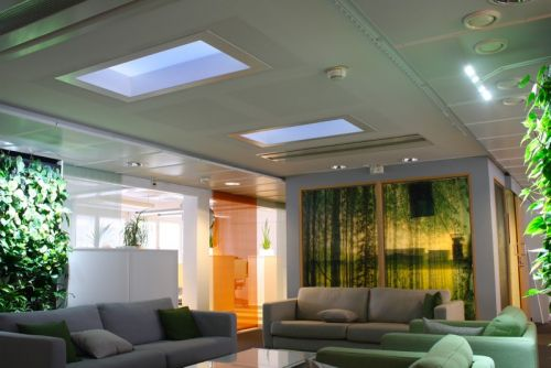 Light Cognitive Designs LED Skylights to Mimic the Sky