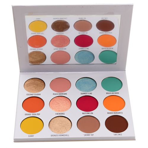 Give Me Glow Swatches: Eyeshadow Palettes