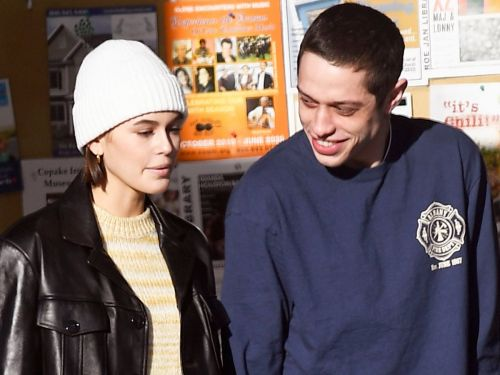 Kaia Gerber Wore the Cutest Jeans and Boots on a Getaway With Pete Davidson