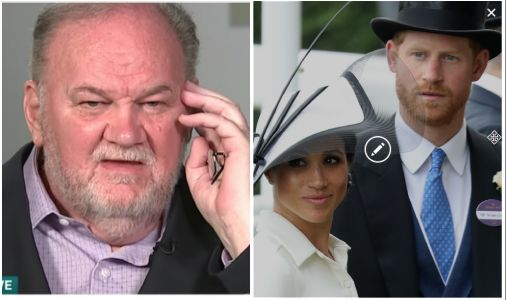 """Meghan Markle's Dad Hints Prince Harry """"Might Have Been"""" a Trump Supporter"""