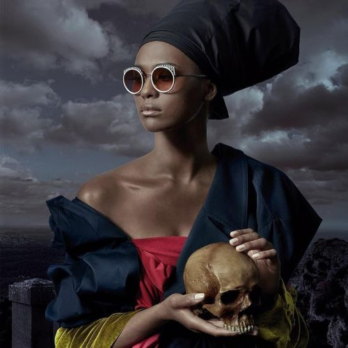 New eyewear campaign features owls, aubergines and skulls