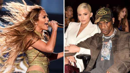 "Fans Blast Kylie Jenner and Travis Scott for ""Looking Bored"" During Jennifer Lopez's Epic VMAs Performance"