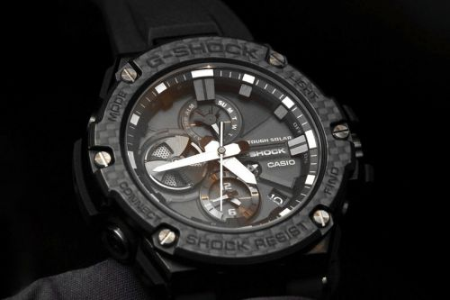 Casio Unveils New G-Steel With Layered Carbon Bezel
