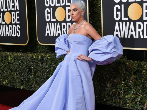 Of Course Lady Gaga Looks Stunning At The Golden Globes