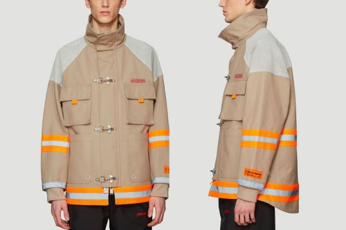 Heron Preston Gives His Take on the Classic Fireman's Jacket