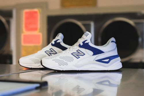 New Balance X-90 Arrives in Crispy White/Blue Colorway for the Summer