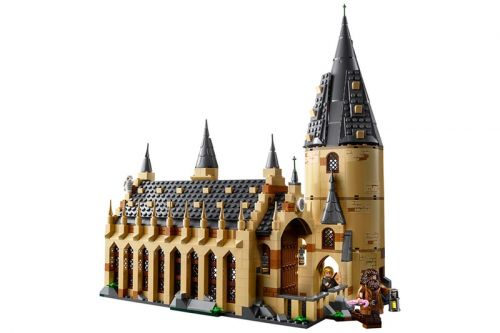 LEGO Takes on the Hogwarts Great Hall from 'Harry Potter'