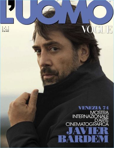 Javier Bardem Covers L'Uomo Vogue, Talks Mother! & Jennifer Lawrence