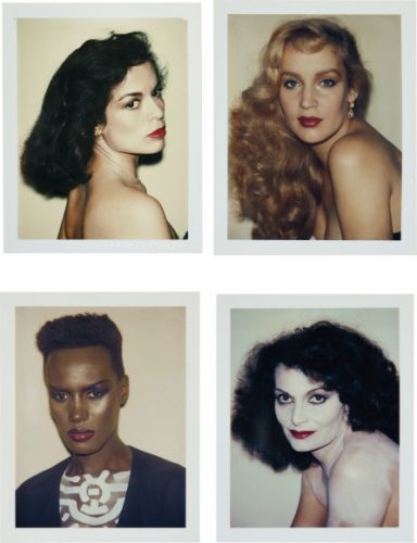 These rare polaroids from Andy Warhol are for sale