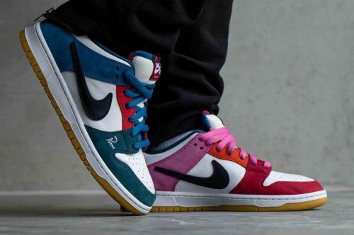 Parra and Nike SB's Latest SB Dunk Low Utilizes Asymmetrical Colorblocking