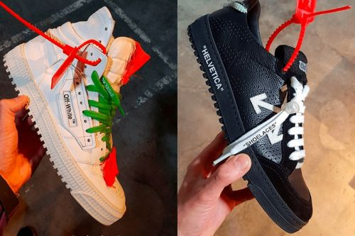 """Off-White™ Unveils New Footwear From Spring/Summer 2018 """"Temperature®"""" Collection"""