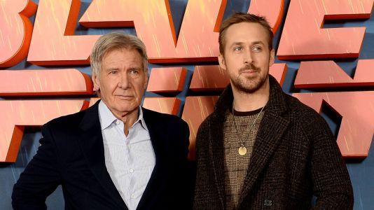 Ryan Gosling and Harrison Ford Just Invented Autumnal Red Carpet Dressing