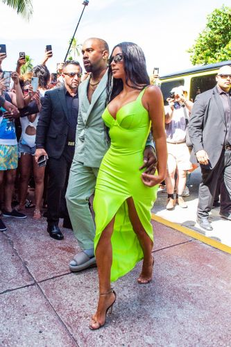 Kim Kardashian's Wedding Guest Outfit Would Make Etiquette Experts Gasp