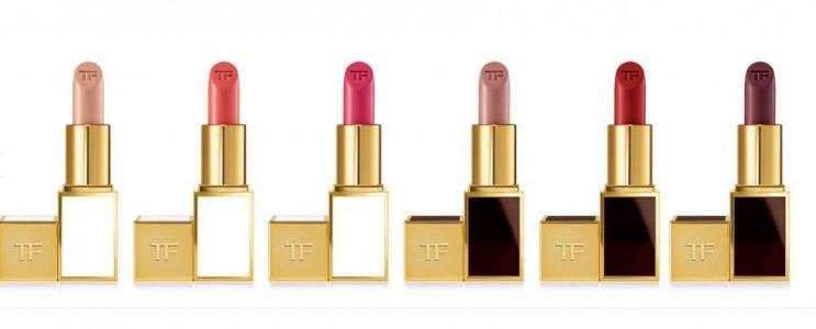 Tom Ford just released 30 new shades to his Boys and Girls lipstick collection