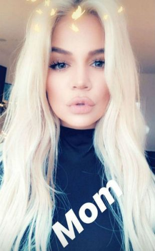 Khloe Kardashian Went Platinum Blonde For Winter