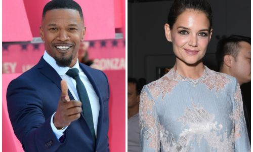 Katie Holmes Flaunts Engagement Ring in Front of Friends After Jamie Foxx's Secret Proposal