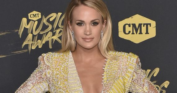 """Pregnant Carrie Underwood Teases Baby No. 2's Gender: """"You've Got a 50 Percent Chance You're Correct"""""""