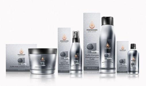 Moroccan Gold Series Introduces Black Truffle Hair Care Collection
