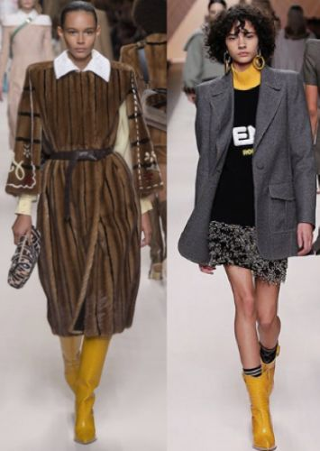 Let Fendi teach you to power dress the romantic way