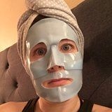 """My Husband Will Just Have to Deal With This """"F*cking Terrifying"""" Mask, Because It Works"""