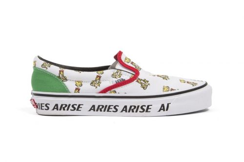 Vans Teams Up With Aries For a Colorful & Graphic-Heavy Capsule