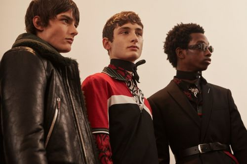 90s tribal prints are back for AW18 at Dior Homme