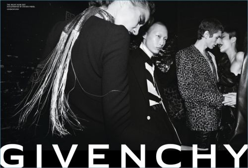 Night Noir: Givenchy Parties for Fall '18 Campaign