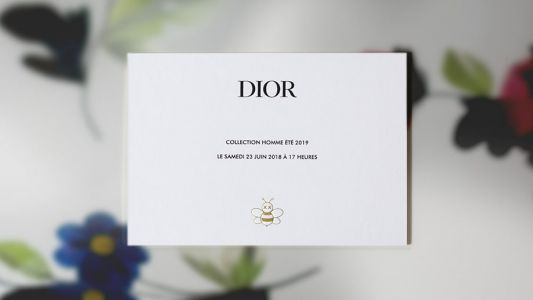 Watch the Dior Homme Runway Show Live