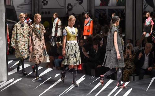 Miuccia Prada's work more important than sales at MFW