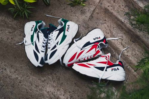 FILA's Chunky Venom Sneaker Gets Highlighted in New Editorial