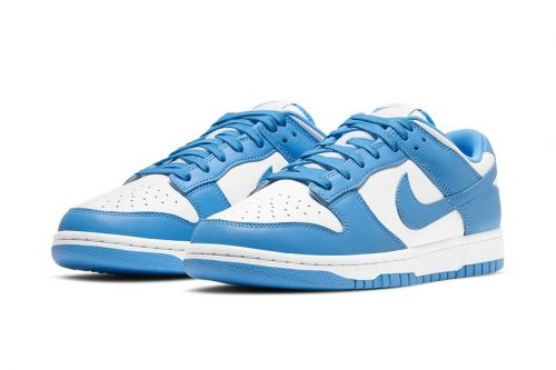 "UNC Vibes Arrive on the Nike Dunk Low ""University Blue"""