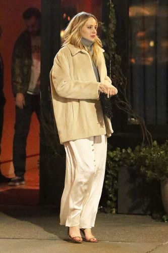 """Jennifer Lawrence Wore This Winter Shoe """"Mistake"""" for Date Night"""
