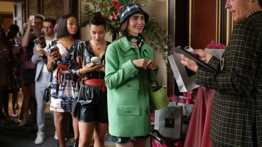 Shoppers Are Indeed Trying to Dress Like 'Emily in Paris'