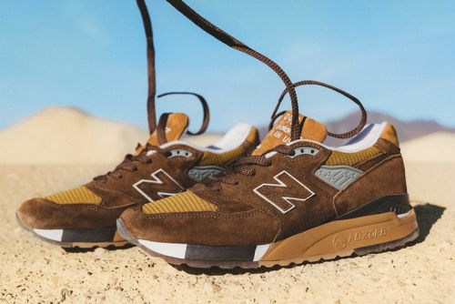"J.Crew & New Balance Channel American Landscapes for the 998 ""National Parks"" Pack"
