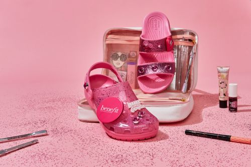 Benefit x Crocs Is the Footwear-Meets-Makeup Collaboration You Didn't Know You Needed
