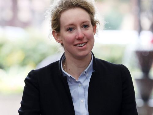 Spotted: Elizabeth Holmes Didn't Wear A Black Turtleneck In Court